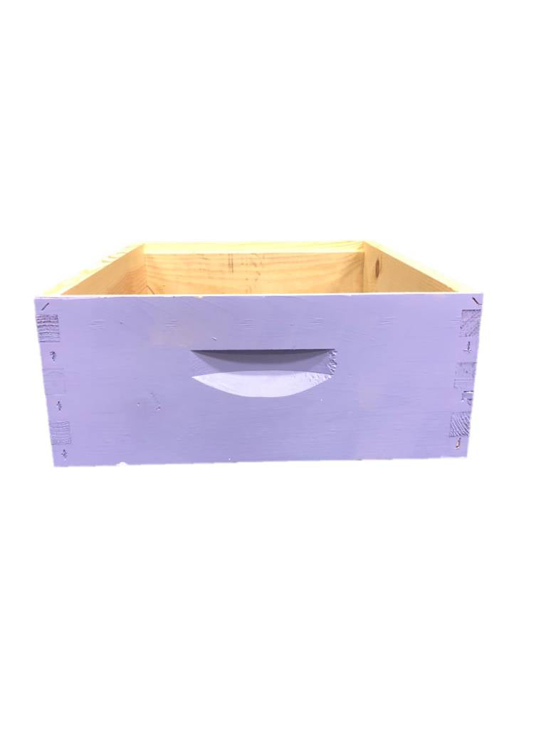 10 Frame Medium Assembled Bright Colors Pine Hive Box w/o Frames