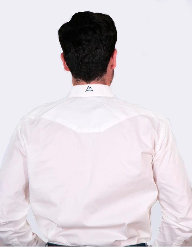 Camisa Vaquera lisa color blanco