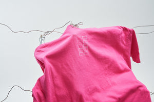 UNKNOWN MEMORY T-SHIRT (WASHED MAGENTA)