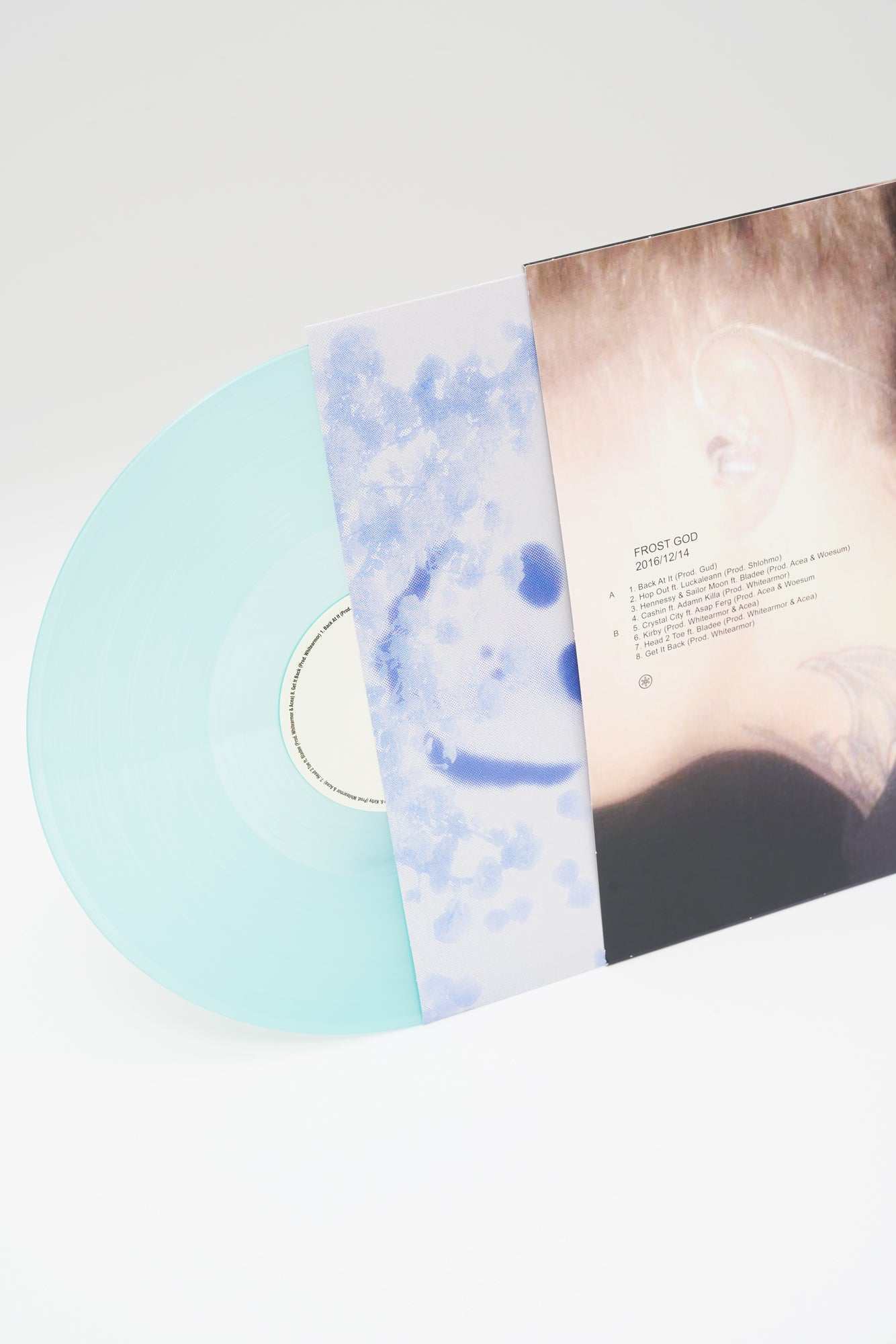 FROST GOD LP (TRANSPARENT BLUE)