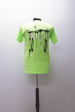 2001 T-SHIRT (LIME GREEN)