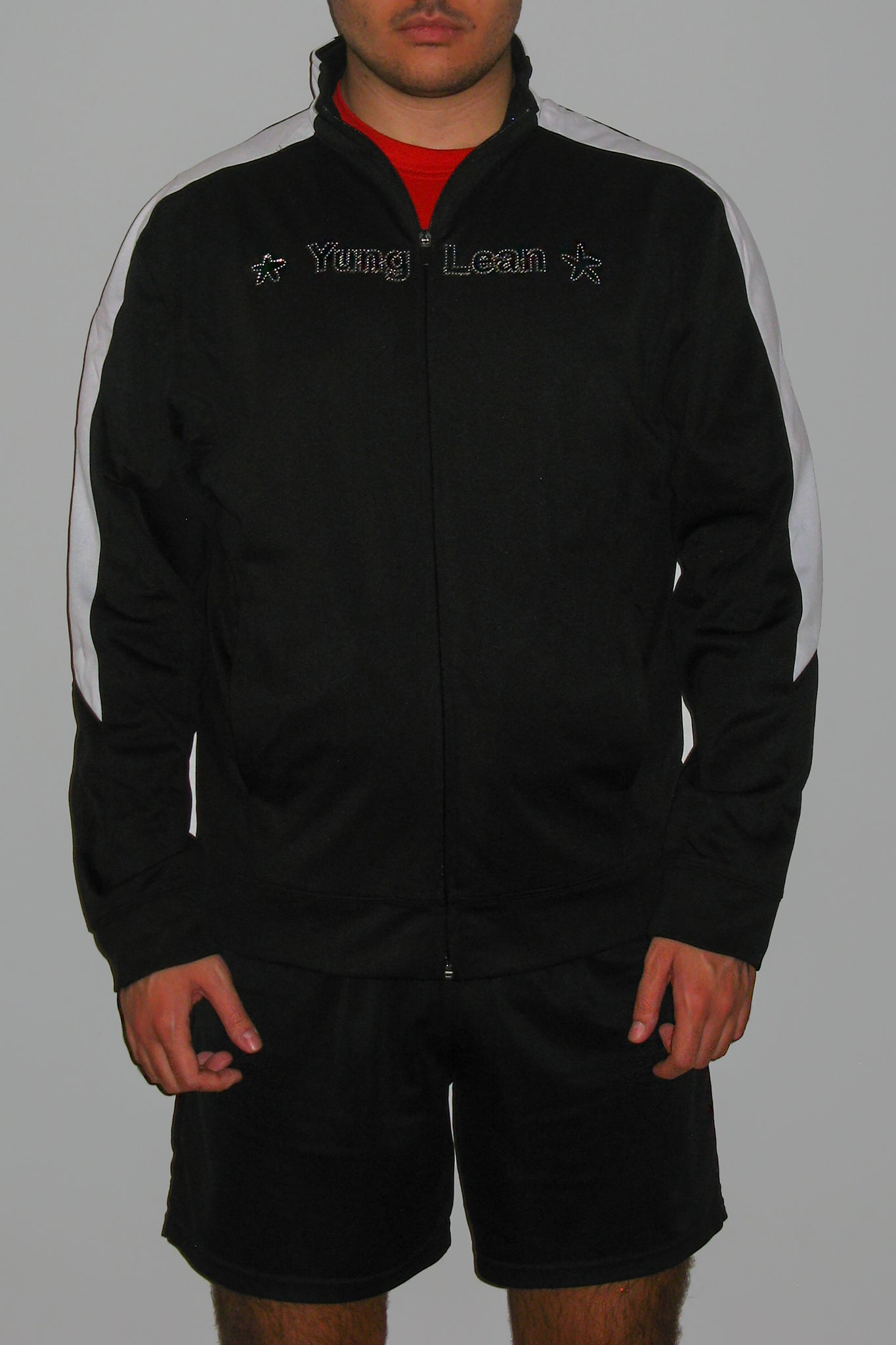 STARZ TRACK TOP (BLACK & WHITE)