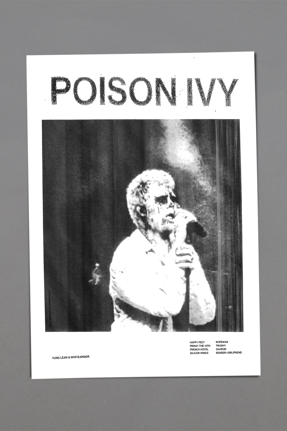 POISON IVY POSTER (WHITE)
