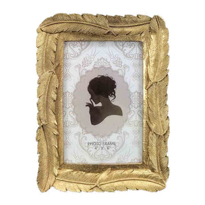 6x4 Gold Feather Frame