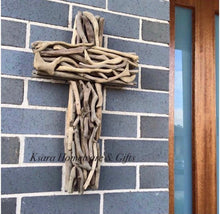 Load image into Gallery viewer, 50cm Natural Driftwood Cross