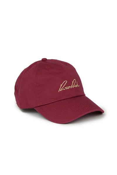 Strapback dad cap - Signature - Burgundy