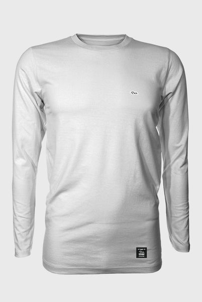 Premium Long Tee - Coasting - White