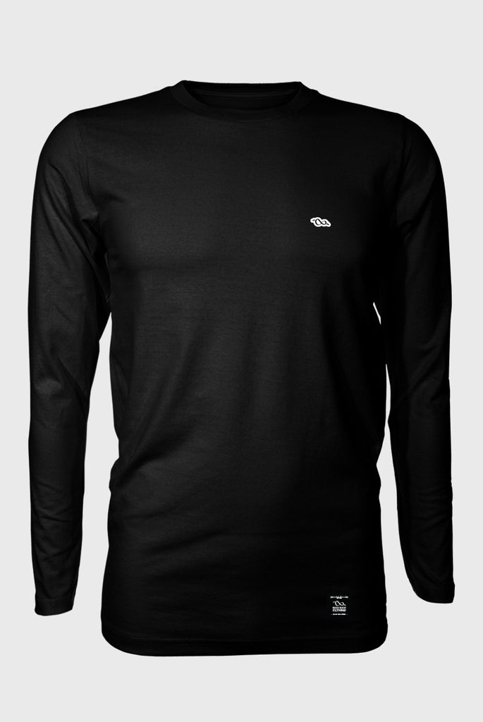 Premium Long Tee - Coasting - Black