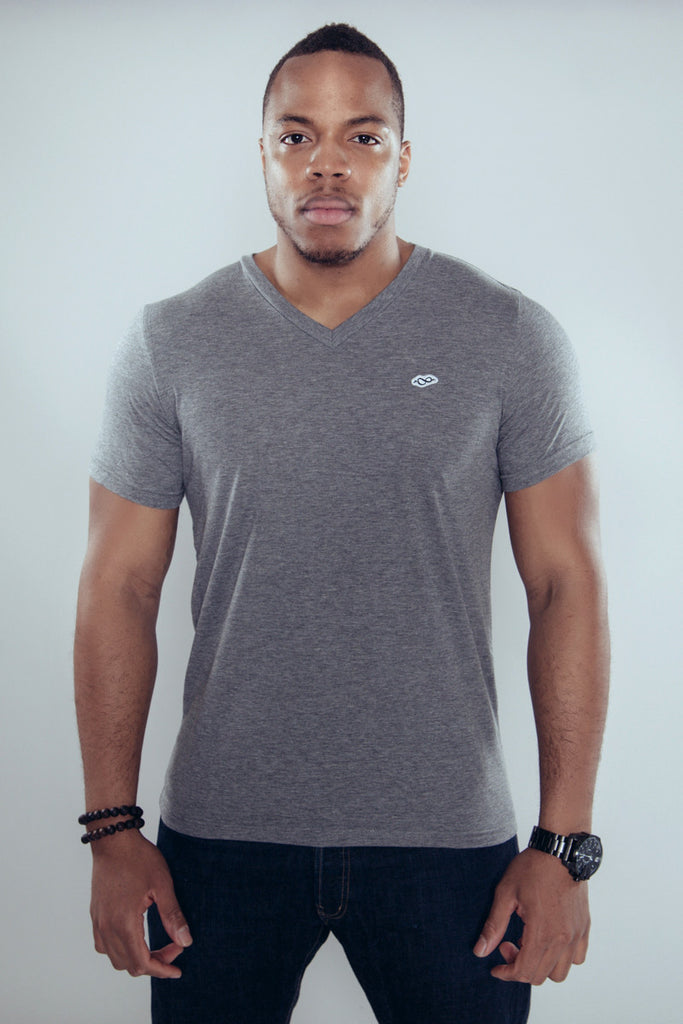 V-neck - Coasting - Grey