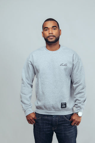 Crewneck - Signature S - Grey