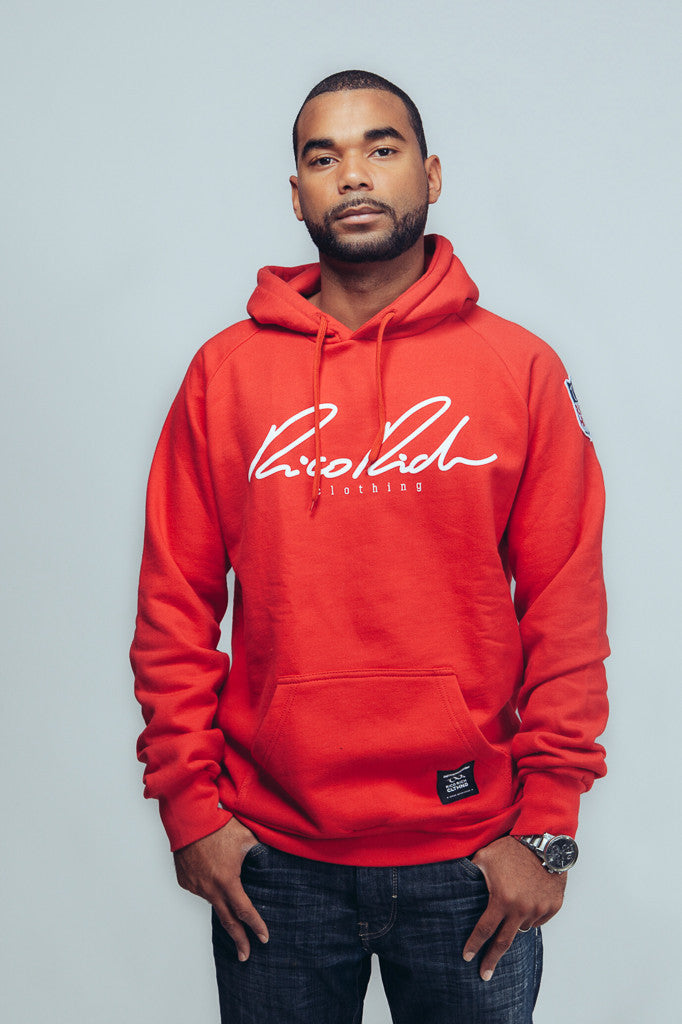 Hoodie - Signature - Red