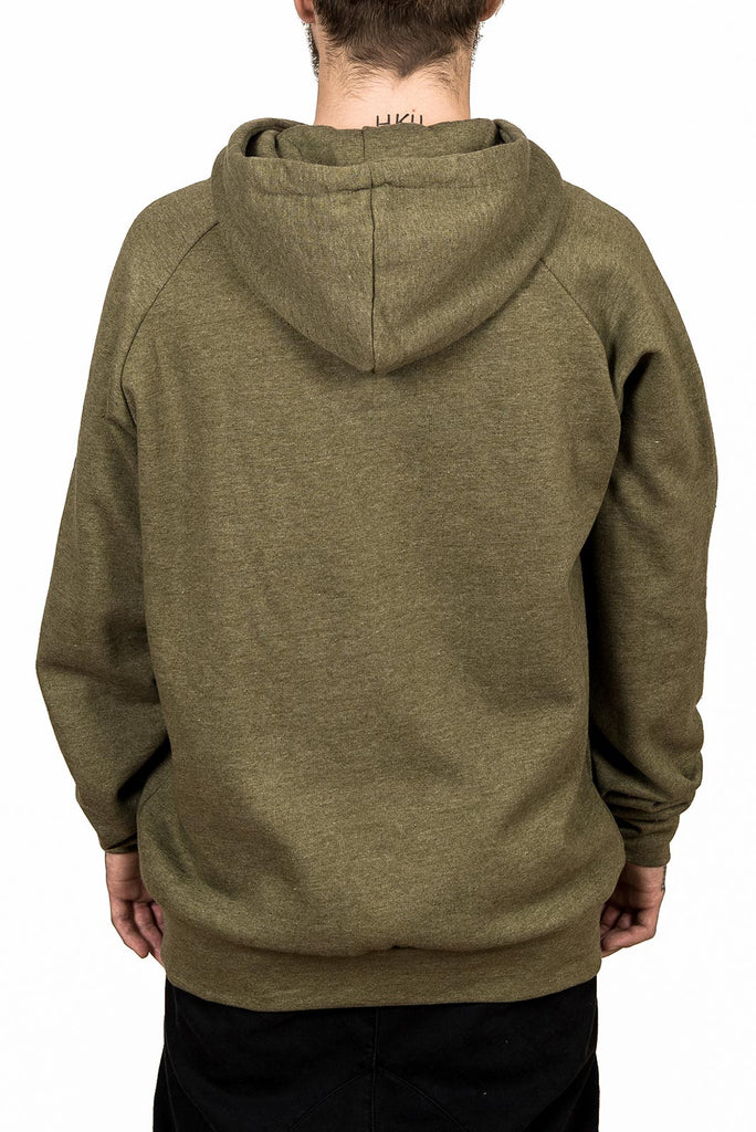 Hoodie - Signature - Heather Green