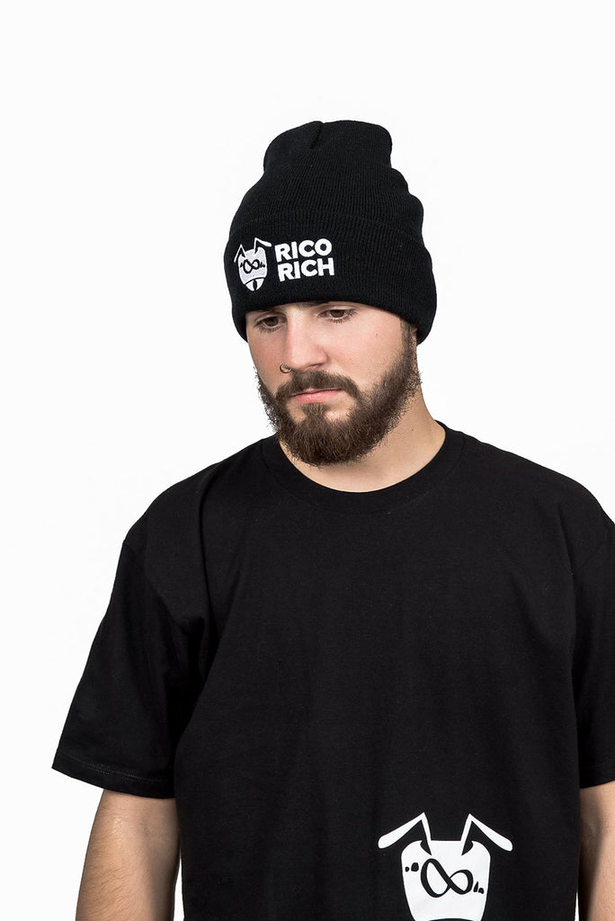 Beanie - Ant-Stacks - Black