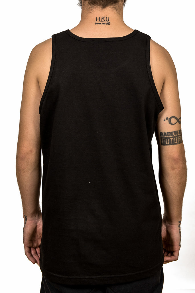 Tank top- In a land - Black