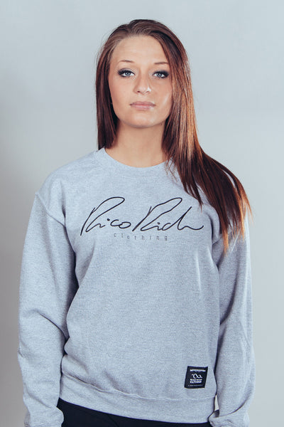 Crewneck - Signature - Grey