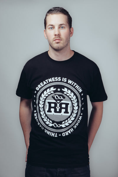 T-shirt - Greatness - Black
