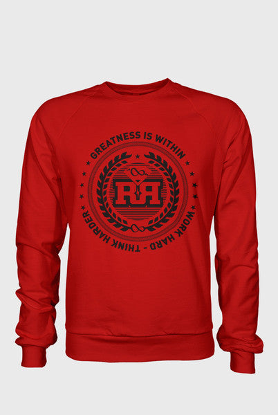Crewneck - Greatness - Red&B