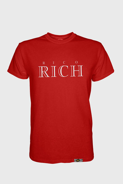T-shirt - Rich - Red