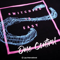 One Control Switching is Easy 長袖Tシャツ ブラック