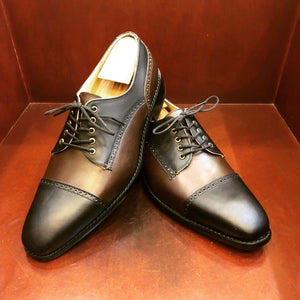 Javier Black & Brown Mens Shoes