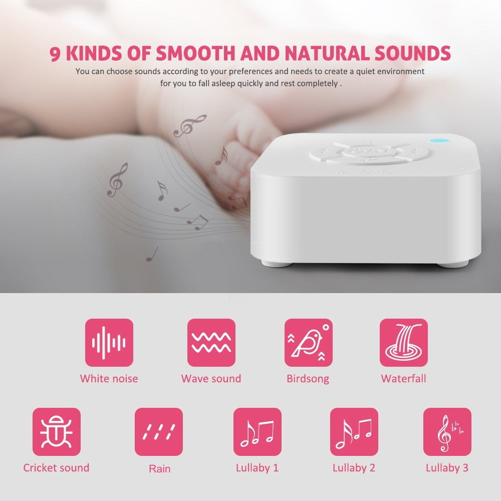 Urban Baby soothing white noise baby monitor Mark and Marla
