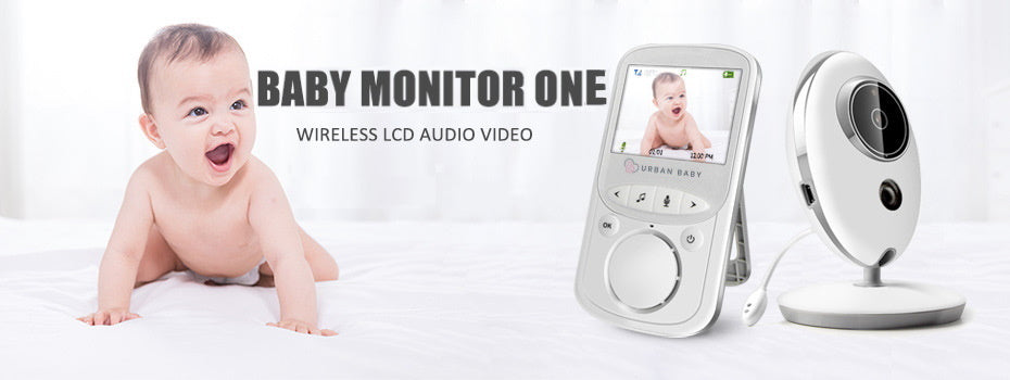 Urban baby monitor colour video audio