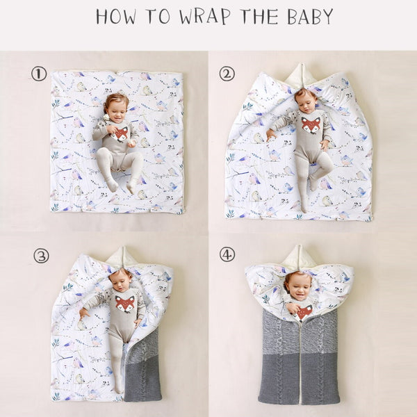 Urban Baby Wrap Tina Swaddle Blanket