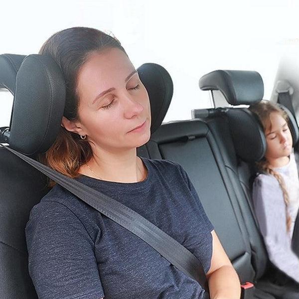Urban Baby head and neck sleeping support pillow for car headrest: Hans