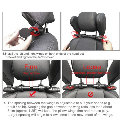 urban baby hans head and neck sleeping support for car seat