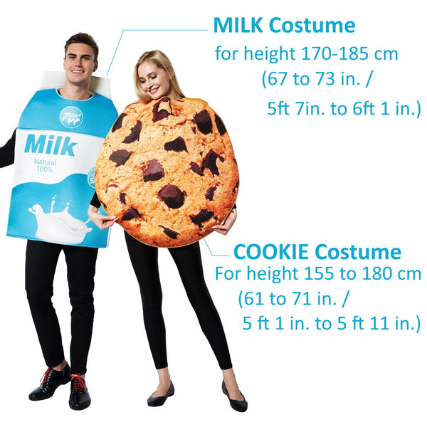 Hilarious Series Milk and Cookies costume set from Urban Baby