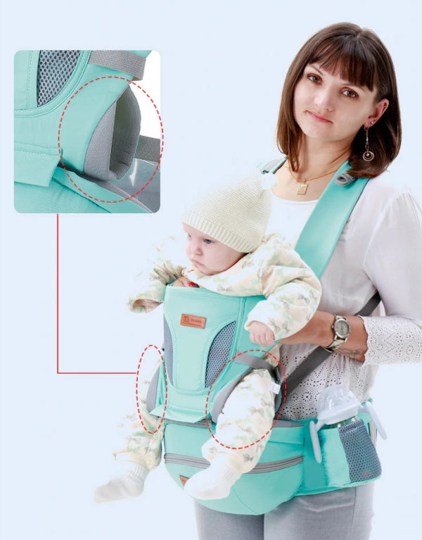Ergonomic Baby Carrier Urban Baby Twyla Kangaroo Carrier