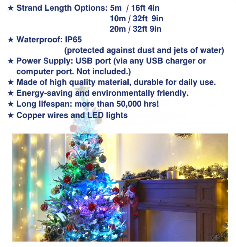 CELIA advanced tree lights