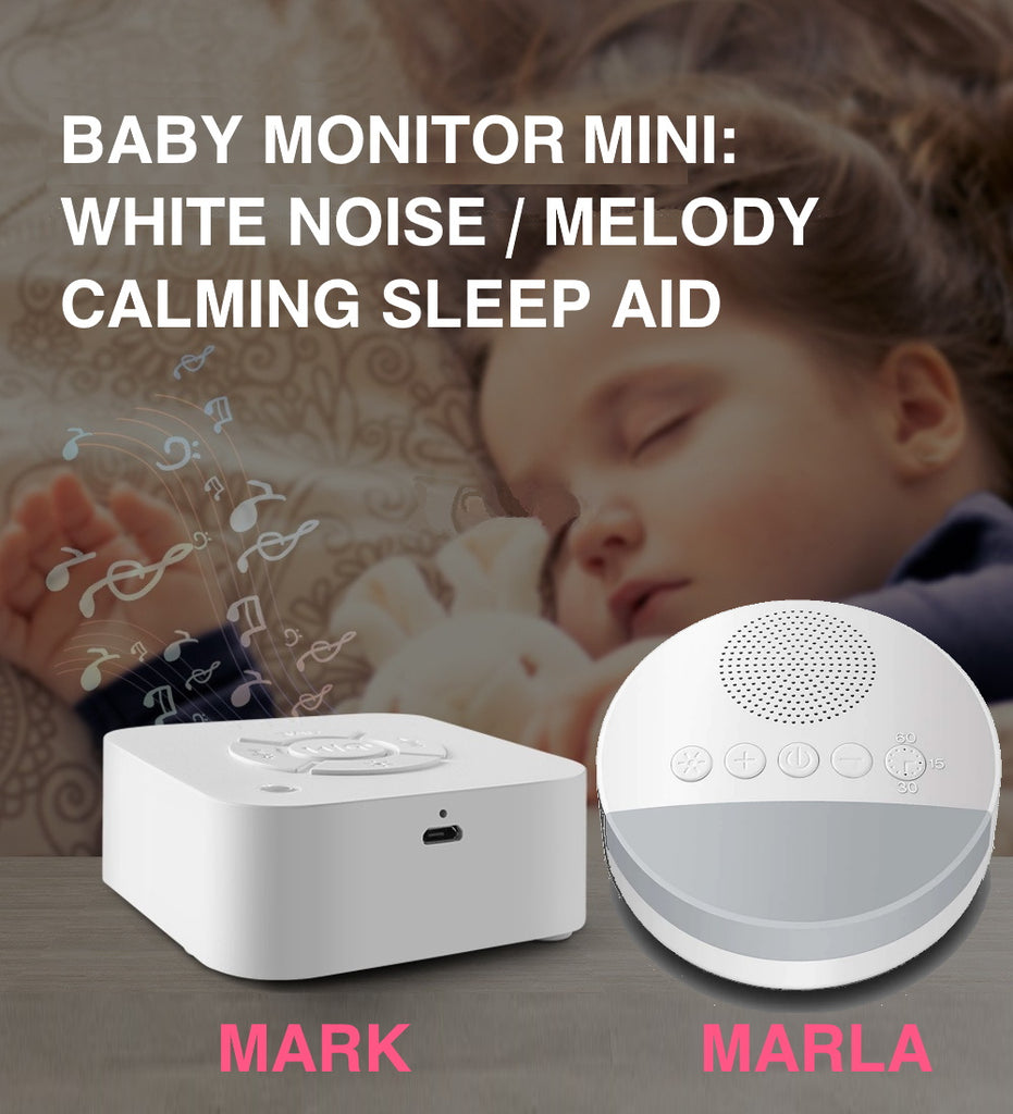 "Baby Monitor Mini: MARK and MARLA<p style=""color: red;""> SEASONAL SALE!</p>"