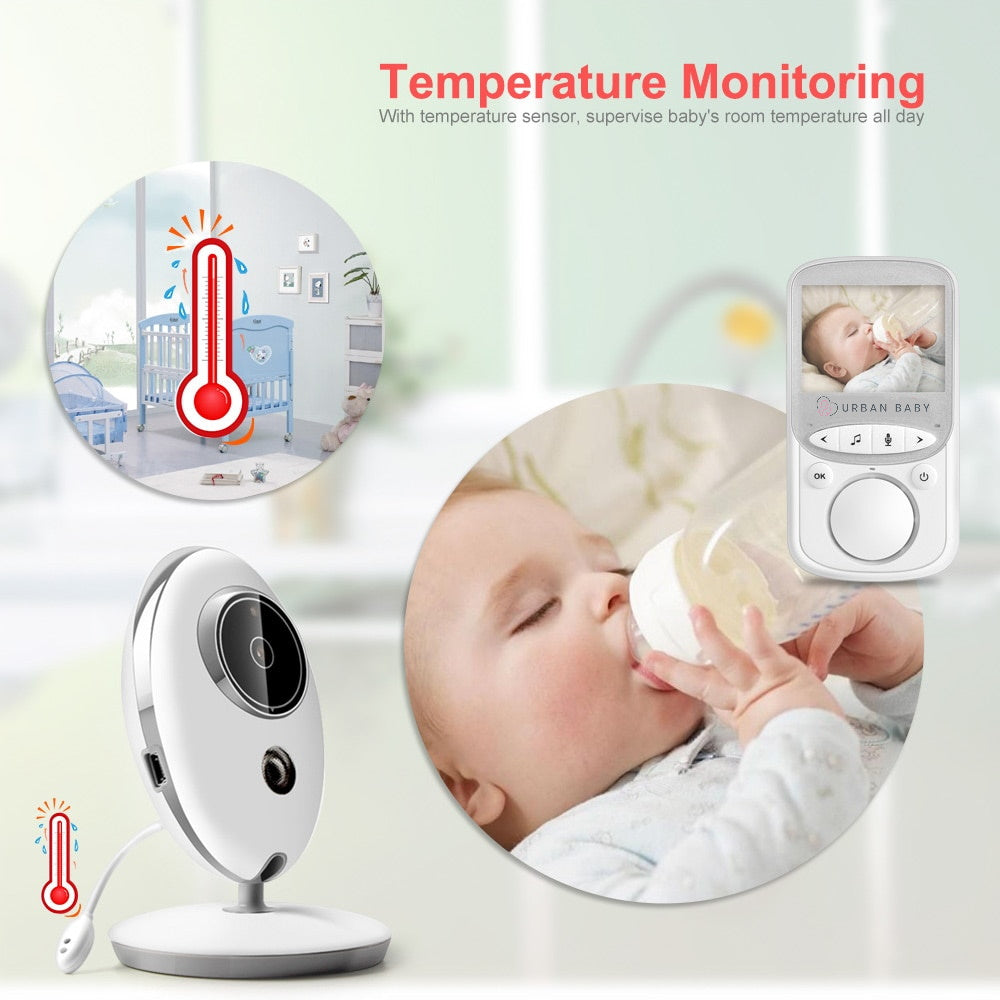 Urban Baby Monitor One: temperature, thermometer