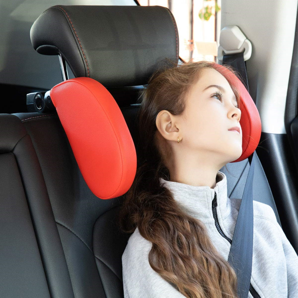 Head and Neck Sleeping Support for Car Headrest :HANS