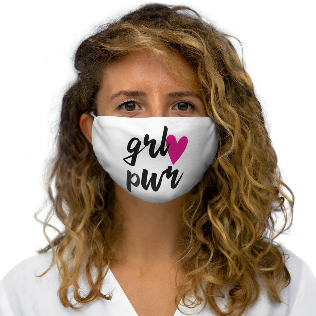 [Multiple Mask Pack] Snug Fit Face Mask: MEG - Girl Power Series (grl pwr + Heart)
