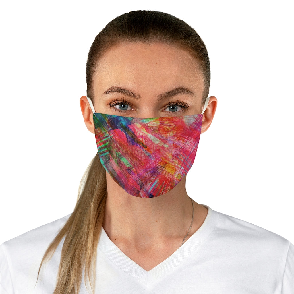 [Multiple Mask Pack] Fabric Face Mask: MILA - Art Series (Crayon Strings)