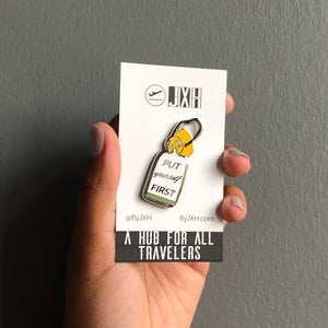 Oxygen Mask - Enamel Pin