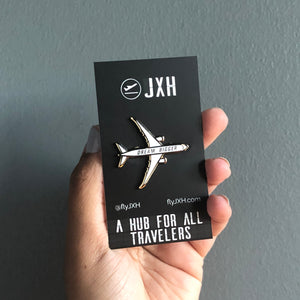 Dream Bigger Airplane - Enamel Pin