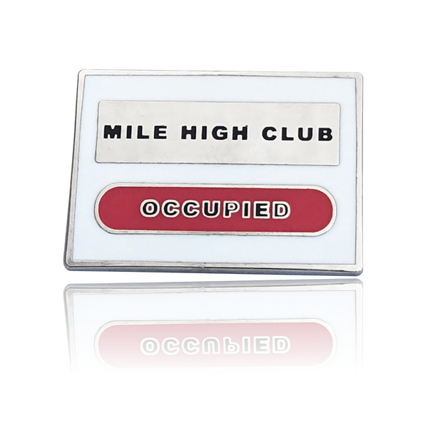 Mile High Club Hard Enamel Pin