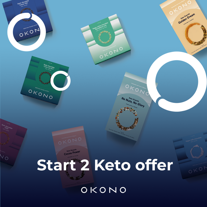 2021 New year resolutions: OKONO Start2Keto offer!