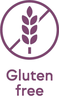 Gluten Free Foods, besides that our products are vegan, our products are gluten free as well, which is perfect for people who are unable to eat gluten
