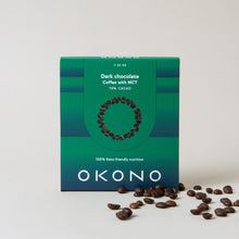 Load image into Gallery viewer, Keto chocolate -  Dark chocolate Coffee with MCT pack