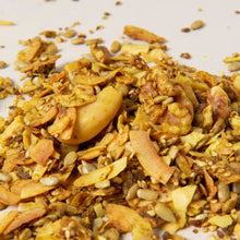 Load image into Gallery viewer, Keto granola - Golden Dream curcuma and ginger raw