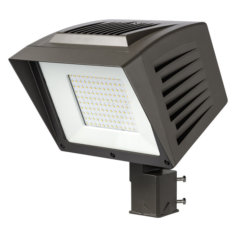 Atlas PFLXW86LEDS Extra Wide Flood - 10,700 Lumen 86) LED Midpower Flood Light with Slipfitter Mount- 4500K