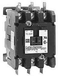 4 POLE 40 AMP 120V COIL CONTACTOR EATON/CUTLER HAMMER BRAND C25END440A