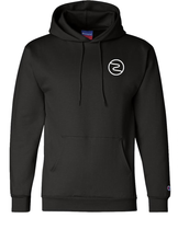 Load image into Gallery viewer, Champion Logo Hoodie Black