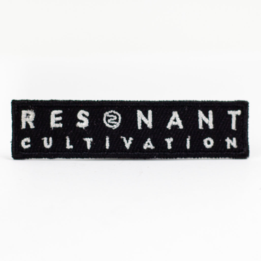 Resonant Cultivation Iron On Patch