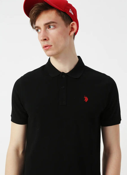 US Polo Shirt Black