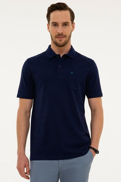 Pierre Cardin Navy Blue T-Shirt